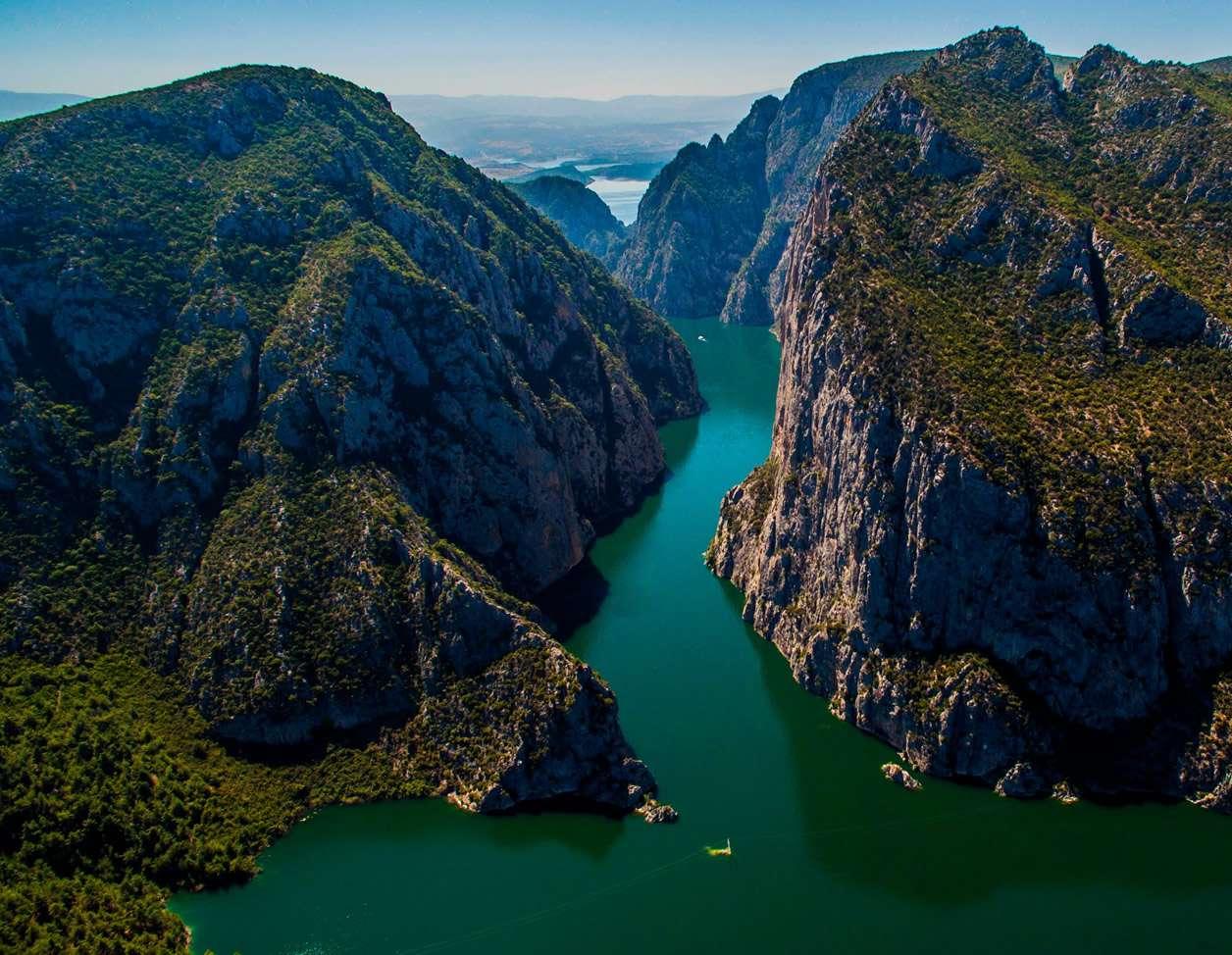 Vezirköprü - Şahinkaya Kanyonu
